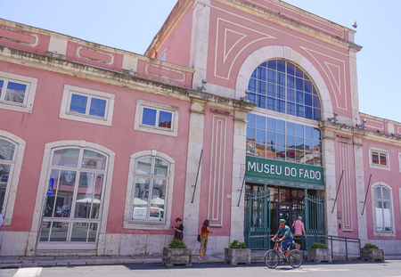 Fado museum in Lisbon - very popular in Portugal