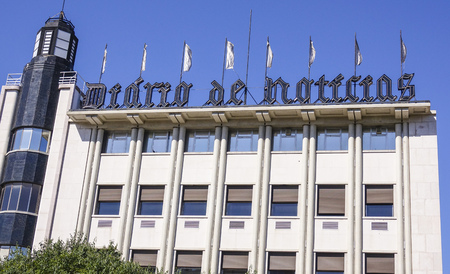tagus: Headquarter of a daily newspaper in Lisbon called