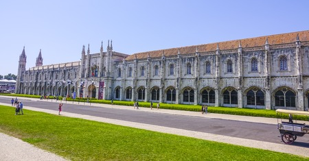 National Archaeology Museum and Maritime museum in Lisbon Belem Editöryel