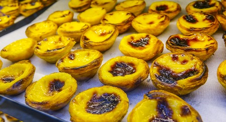Most famous pastry in Lisbon - the Nata cake - Lisbon 2017