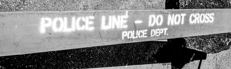 Police Line - Do not Cross- MANHATTAN - NEW YORK - APRIL 1, 2017 Sajtókép