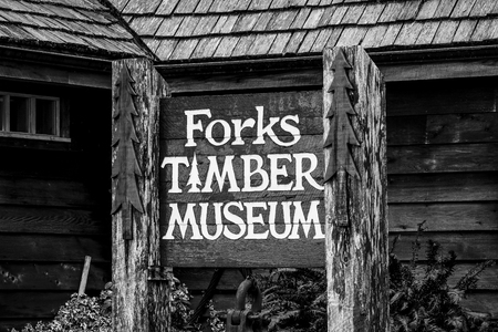 Forks Timber Museum - FORKS - WASHINGTON - APRIL 14, 2017 Sajtókép