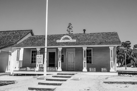 Old Printing Office at San Diego Old Town State Historic Park - SAN DIEGO - CALIFORNIA - APRIL 21, 2017 Editorial