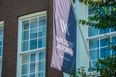 Exclusive Waldorf Astoria Hotel in Amsterdam