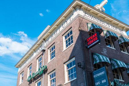 Beroemde Grasshopper-bouw in het stadscentrum van Amsterdam