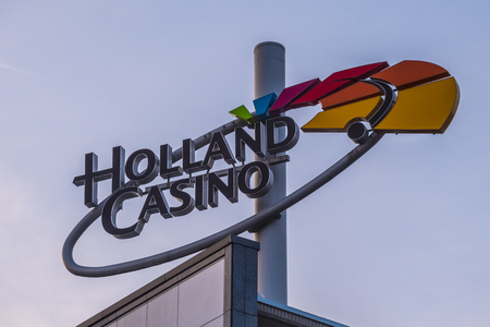 Holland Casino at Leidse Square in Amsterdam - AMSTERDAM - THE NETHERLANDS 2017 Stok Fotoğraf - 85150159
