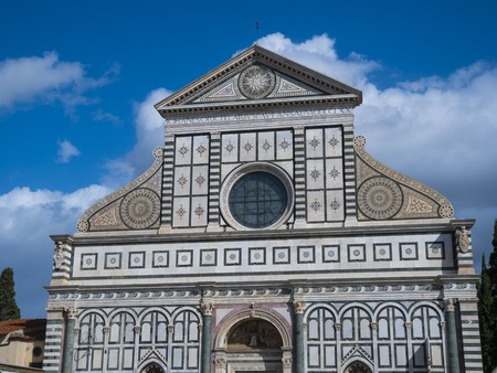 Beautiful church of Santa Maria Novella in the heart of Florence - Tuscany, Italy