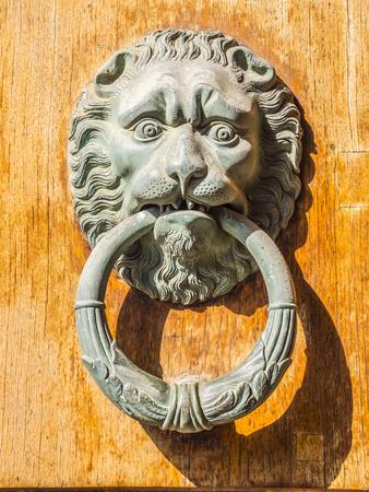 Beautiful and ancient door knocker - Tuscany Italy