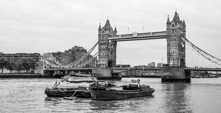 The Tower Bridge in London - view from More London Riverside