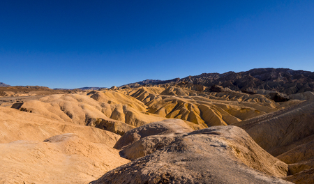 Amazing Death Valley National Park on a sunny day