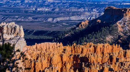 The famous Bryce Canyon National Park in Utah