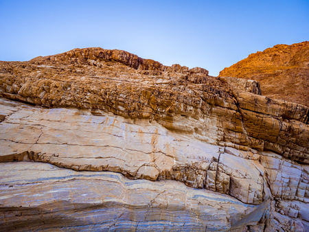 Amazing Mosaic Canyon at Death Valley National Park California Stok Fotoğraf