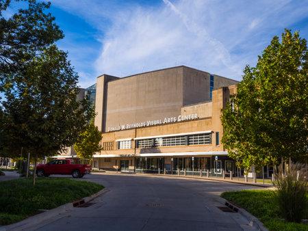 Donald W Reynolds Visual Arts Center - Oklahoma City Museum of Art - OKLAHOMA CITY - OKLAHOMA - OCTOBER 18, 2017 Éditoriale