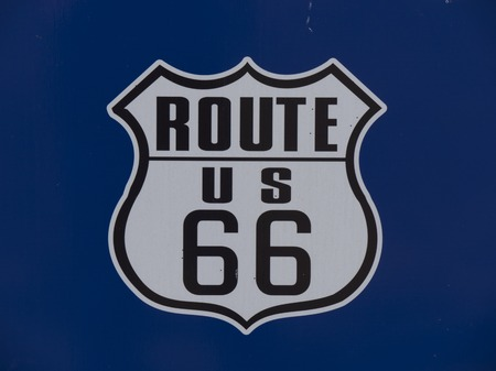 US 66 Route 66 in Oklahoma - STROUD - OKLAHOMA - OCTOBER 24, 2017 Éditoriale