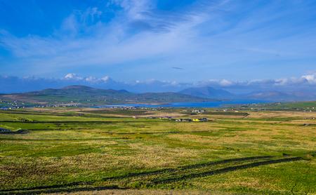 Wonderful landscape at the Irish county of Kerry