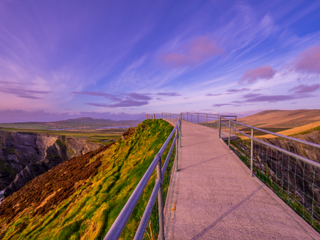 Great walks at the Kerry Cliffs in Ireland