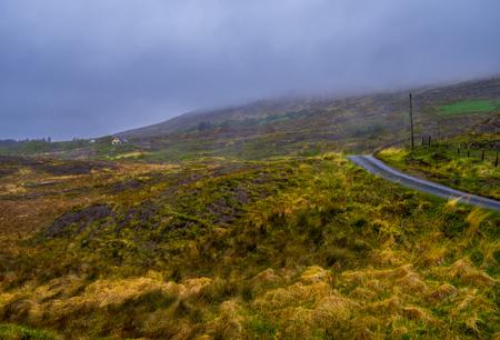 Amazing Irish landscape at Beara Peninsula in Ireland