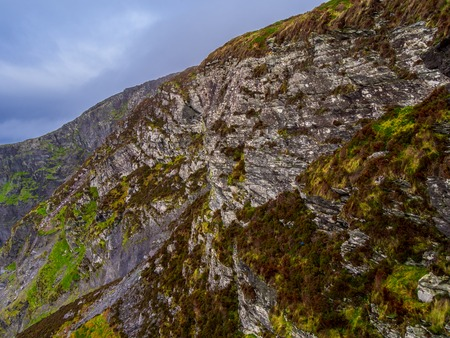 The amazing Fogher Cliffs at the Irish west coast