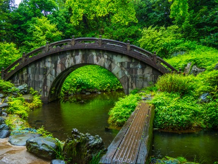 Japanese Garden in Korakuen Tokyo - travel photography