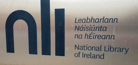 National Library of Ireland in Dublin