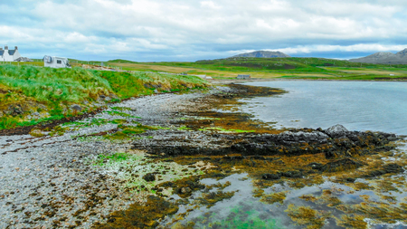 The Kyle of Durness in the Highlands of Scotland