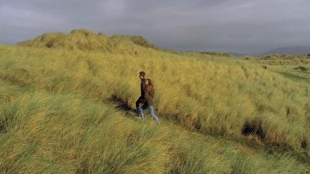 Wonderful hiking trails through the dunes of Irelands west coast