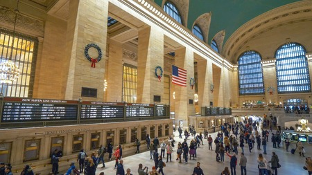 New York Grand Central Station - NEW YORK, USA - DECEMBER 4, 20
