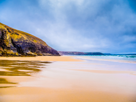 St Agnes Beach in Cornwall - a surfers paradise in England