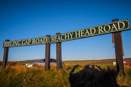 Birling Gap at Seven Sisters coast in Sussex Reklamní fotografie