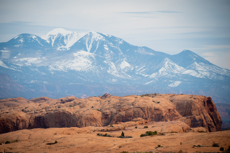 Arches National Park in Utah - famous landmark - travel photography Stock Photo