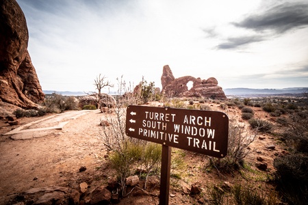 Arches National Park in Utah - famous landmark - travel photography