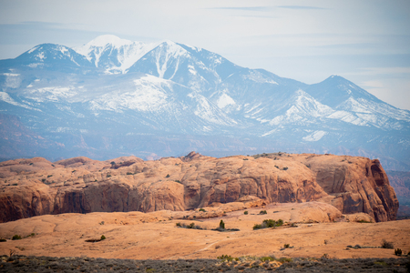 Amazing Scenery at Arches National Park in Utah