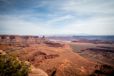 The infinite valley at Dead Horse Point in Utah