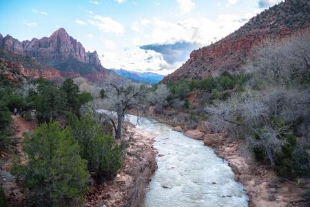 Zion Canyon in Utah - stunning scenery
