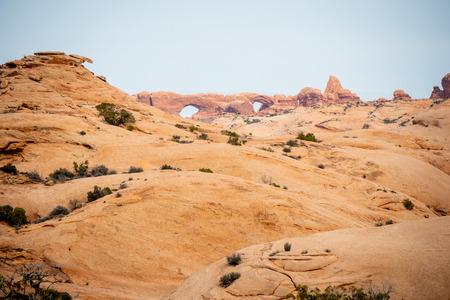 Arches National Park in Utah - famous landmark Zdjęcie Seryjne