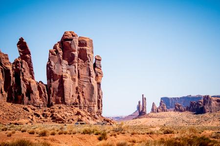 Monument Valley in Utah Oljato Imagens