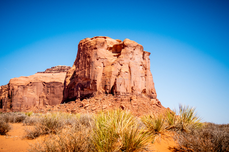 Monument Valley in Utah Oljato Stockfoto