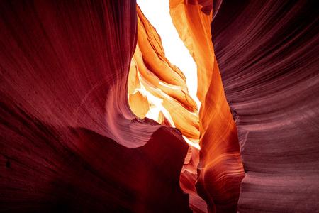 Cañón del Antílope: colores increíbles de las rocas de arenisca