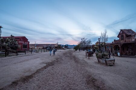 Pioneertown at the Morongo Basin in Calfornia - CALIFORNIA, USA - MARCH 18, 2019