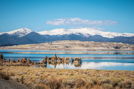 Mono Lake in the Eastern Sierra Nevada