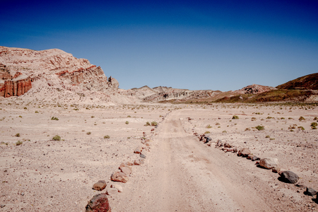 Red Rock Canyon State Park in California Stock Photo