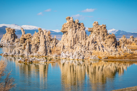 Mono Lake with its amazing Tufa towers