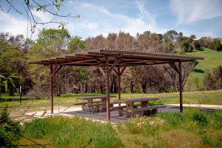Pic-nic area at Malibu Creek State Park