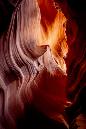 Beautiful Upper Antelope Canyon