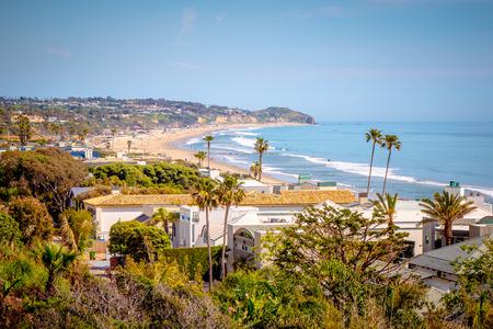 Beautiful Pacific Coast at Malibu California
