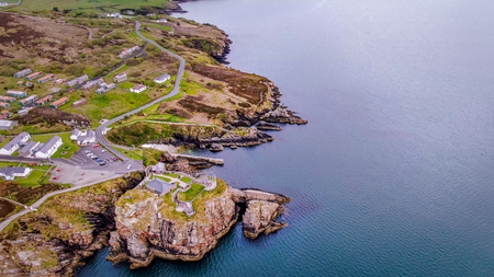 Fort Dunree at Dunree Head in Ireland - travel photography
