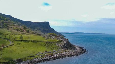 Murlough Bay in North Ireland - aerial view - travel photography Reklamní fotografie