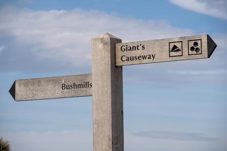 Giants Causeway - a popular landmark in Northern Ireland - travel photography