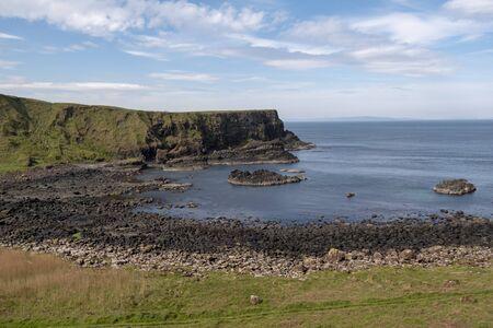 Amazing landscape at the Causeway Coast in Northern Ireland Stock fotó