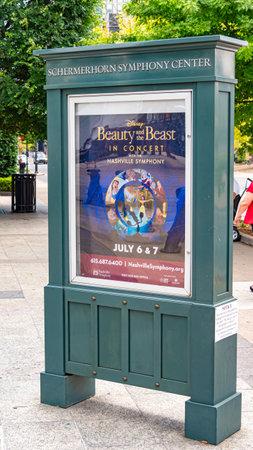 Schermerhorn Symphony Center in Nashville - NASHVILLE, TENNESSEE - JUNE 15, 2019 Archivio Fotografico - 137810544
